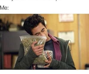 weed, 420, and funny image
