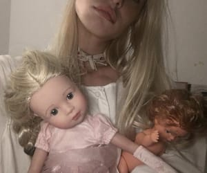 2000s, blonde, and doll image