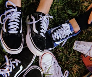 friendships, shoes, and vans image