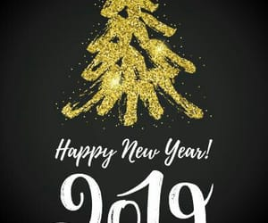 2019, background, and happy new year image