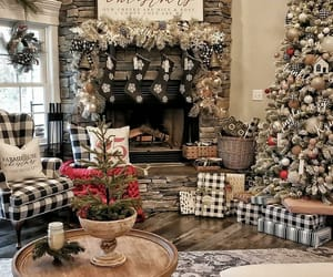 christmas, decor, and happy new year image