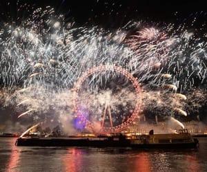beautiful, colourful, and fireworks image