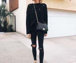 blogger, chanel bag, and fashion image
