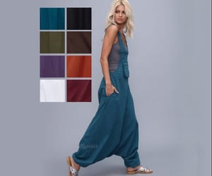 Burning Man, boho jumpsuit, and jumpsuit for women image