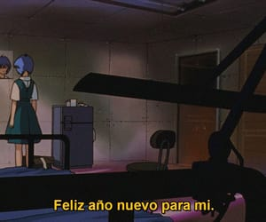 anime, evangelion, and frases image