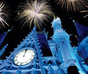 beautiful, disney, and fireworks image