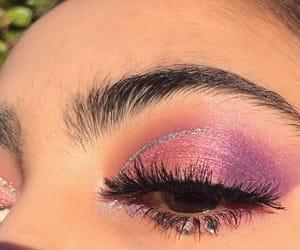 eyeshadow, gem, and glam image