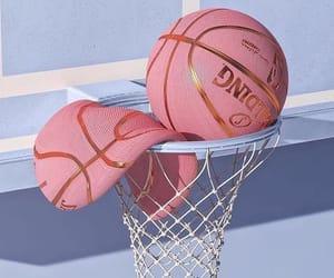 aesthetic, Basketball, and pink image