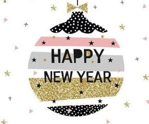 christmas, fireworks, and happy new year image