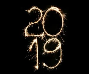 2019, happy new year, and new year image