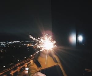 fashion, fireworks, and girl image