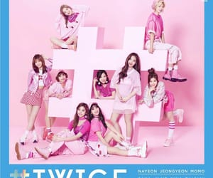 twice, jyp entertainment, and twice album cover image