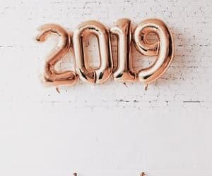 2019, balloons, and celebration image