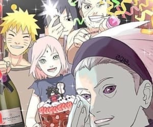 sakura, tobi, and obito uchiha image