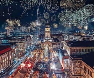 fireworks, germany, and travel image