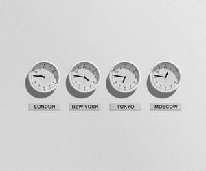 clock, travel, and white feed image