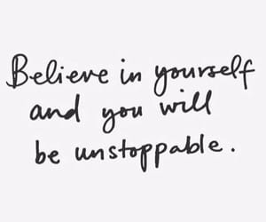 quotes, believe, and inspiration image