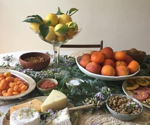 cheese, food, and fruit image