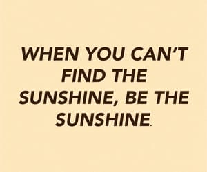 quote, sunshine, and words image
