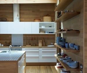 interior, design, and kitchen image