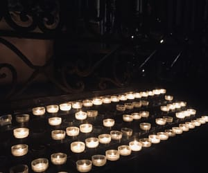 candles, light, and church image
