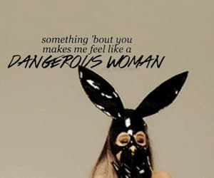 bunny ears, quote, and woman image