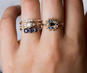 accessories, ring, and gold image