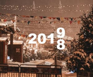 2019, winter, and happy new year image