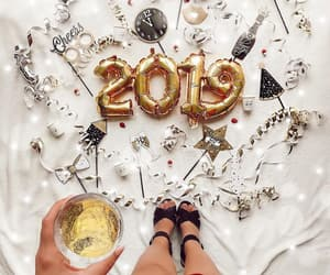 happy new year, style, and love image