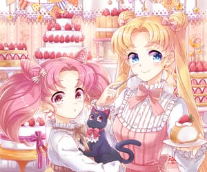 amazing, queen serenity, and adorable image