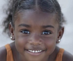 cuteness, smile, and melanin image
