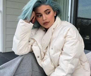 kylie jenner, blue, and beauty image