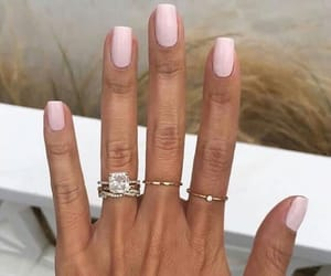 nails, pink, and polish image