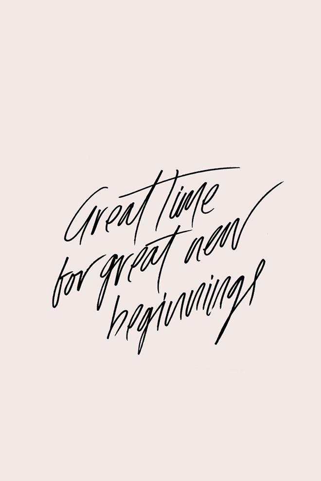 Great Time For Great New Beginnings On We Heart It