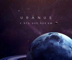 Uranus, space, and universe image
