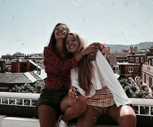 girls, bff, and travel image