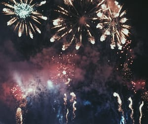Dream, fireworks, and follow image