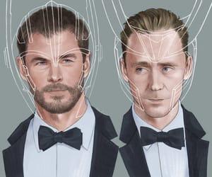 art, Avengers, and celebrities image