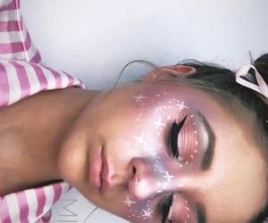 artist, sky, and makeup image