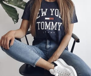 hilfiger, jeans, and tommy image