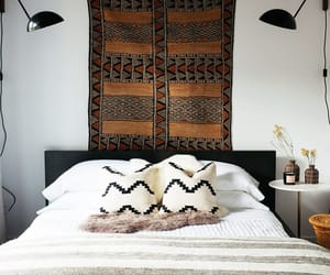 cabin decor, cabin style, and mid-century modern home image