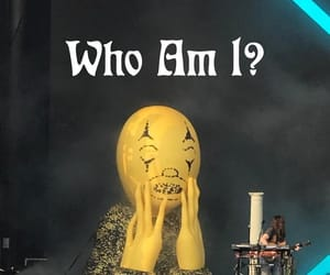 MGMT, text, and who am i? image