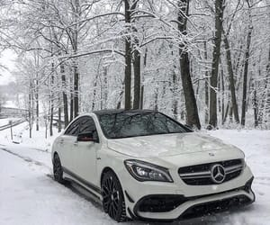 45, car, and mercedes image
