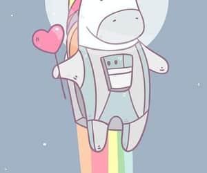 unicorn, background, and cute image