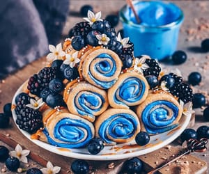 blue, yum yummy delicious, and fashion image