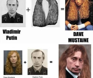 dave mustaine, russia, and putin image
