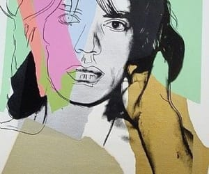 andy warhol, mick jagger, and pop art image