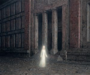 abandoned, ghost, and painting image