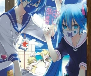 kaito, miku, and vocaloid image