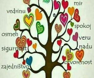 ljubav, mir, and sreca image
